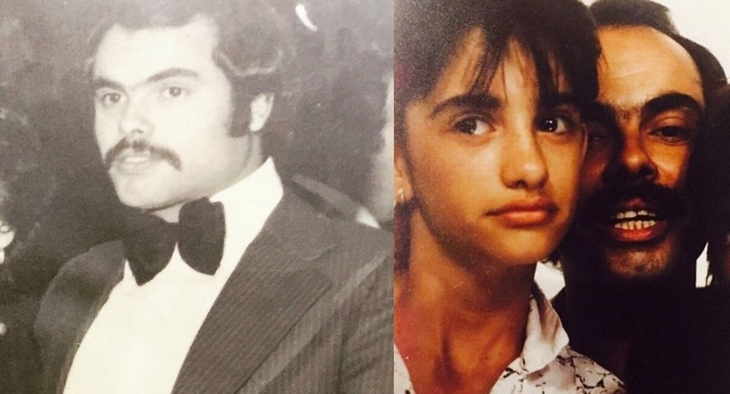 Penelope Cruz's family - father Eduardo Cruz