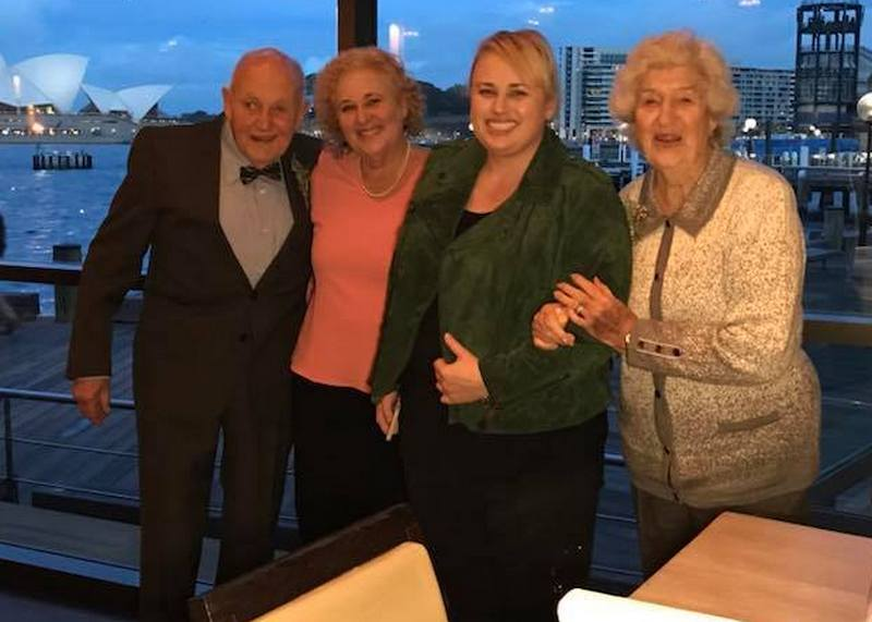Rebel Wilson's family - maternal grandparents
