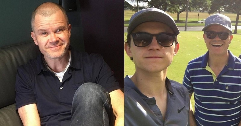 Tom Holland's family - father Dominic Holland