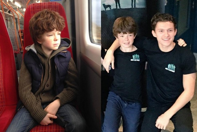 Tom Holland's siblings - brother Patrick Holland