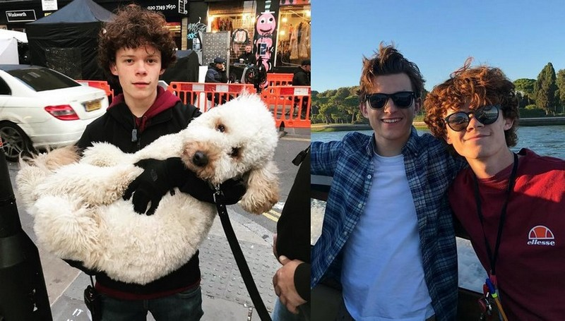 Tom Holland's siblings - brother Harry Holland