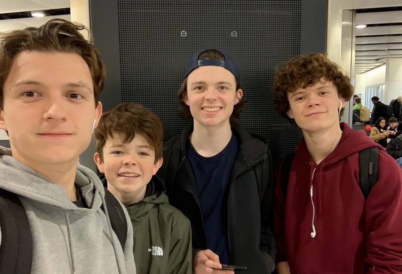 Tom Holland's siblings