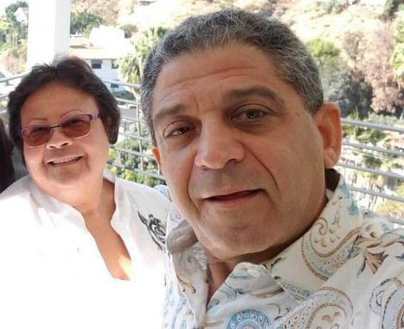 Zoe Saldana's family - stepfather Hilario Dagoberto Galan