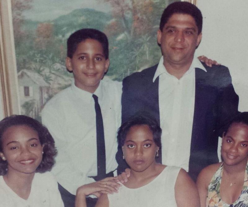Zoe Saldana's family