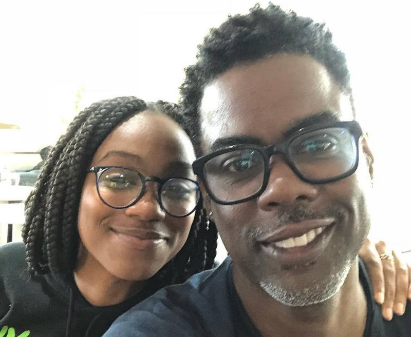 Chris Rock's children - daughter Lola Simone Rock