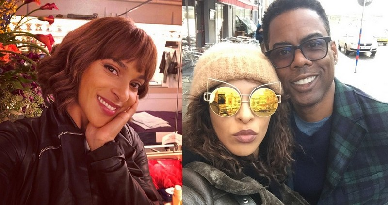 Chris Rock's family - girlfriend Megalyn Echikunwoke