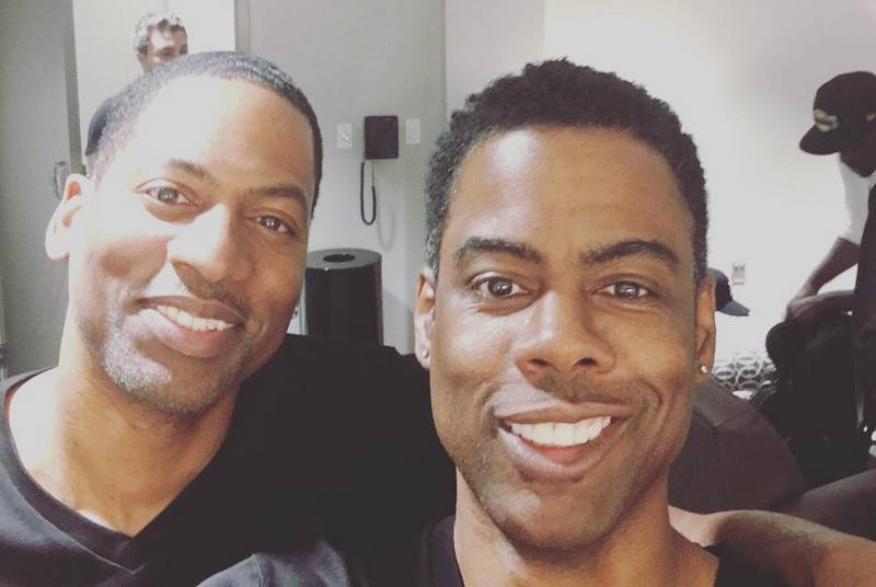 Chris Rock's siblings - brother Tony Rock