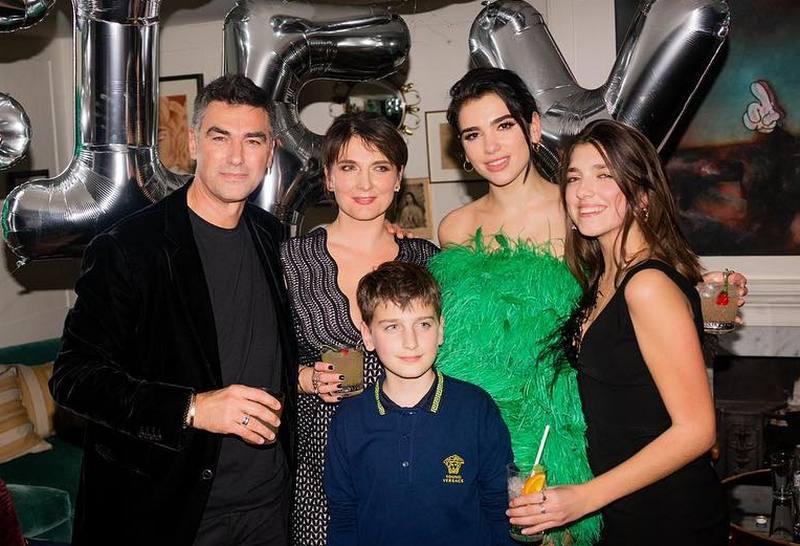 Dua Lipa's family