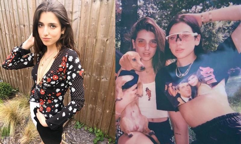 Dua Lipa's siblings - sister Rina Lipa