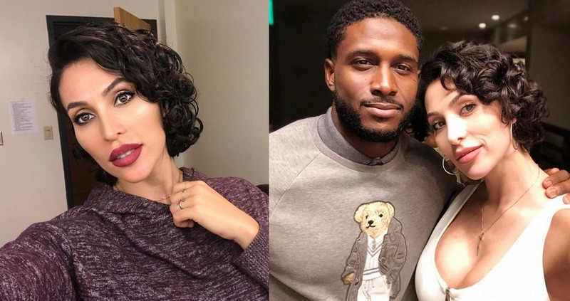 Reggie Bush family - wife Lilit Avagyan