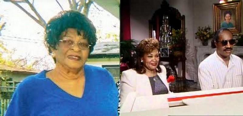 Stevie Wonder's family - mother Lula Mae Hardaway