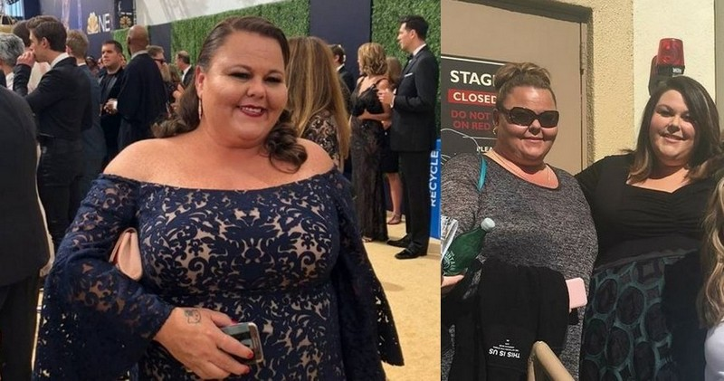 Chrissy Metz siblings - sister Monica Metz
