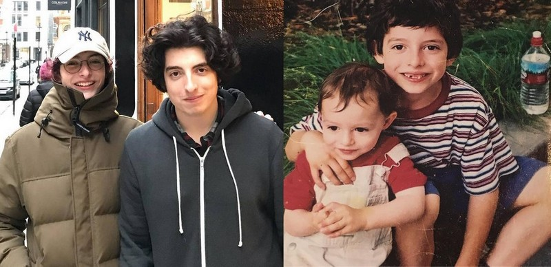 Finn Wolfhard siblings - brother Nick Wolfhard