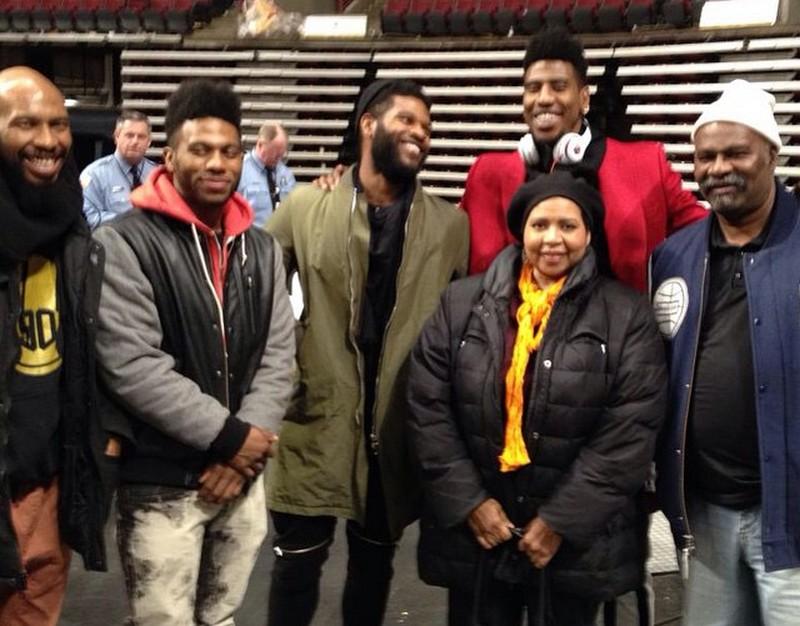 Iman Shumpert family