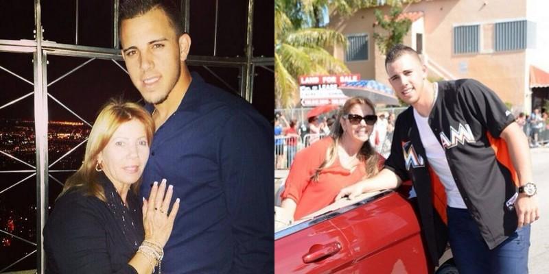 Jose Fernandez family - mother Maritza Fernandez
