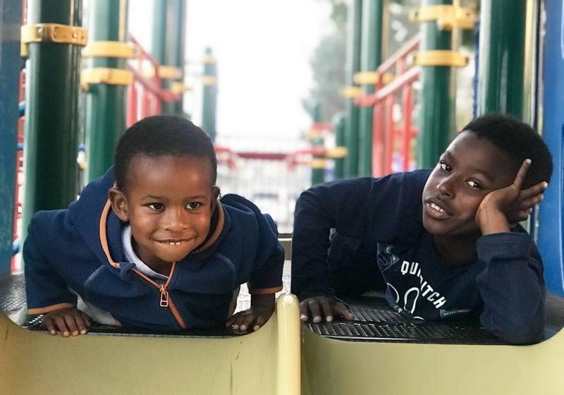 Sterling K. Brown children