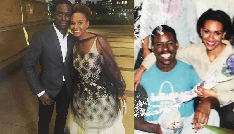 Sterling K. Brown family - wife Ryan Michelle Bathe