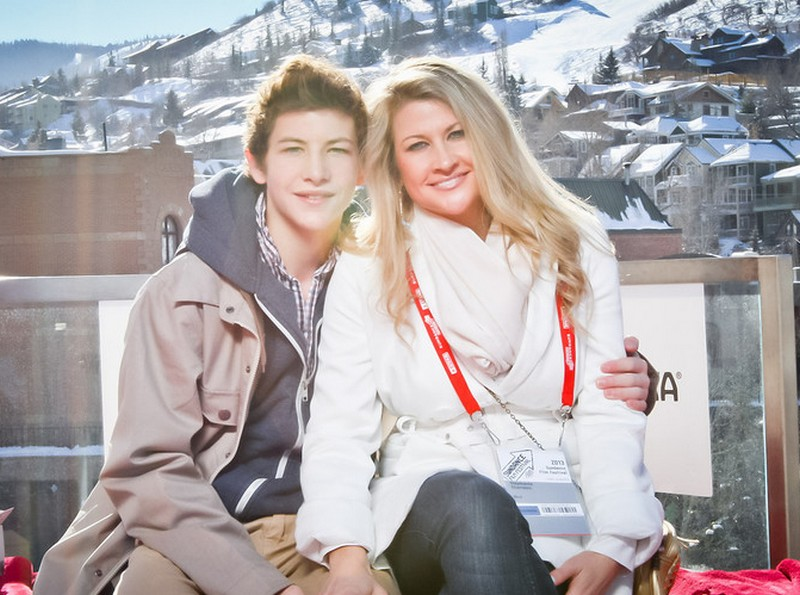 Tye Sheridan family - mother Stephanie Sheridan