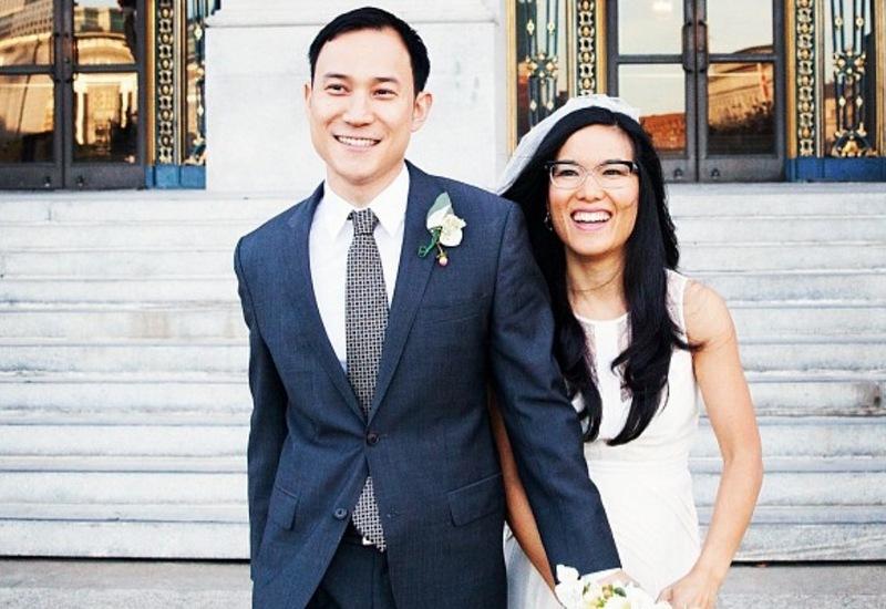 Ali Wong family - husband Justin Hakuta