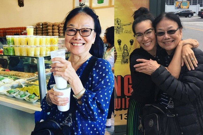 "Ali Wong family - mother Tam ""Tammy"" Wong"