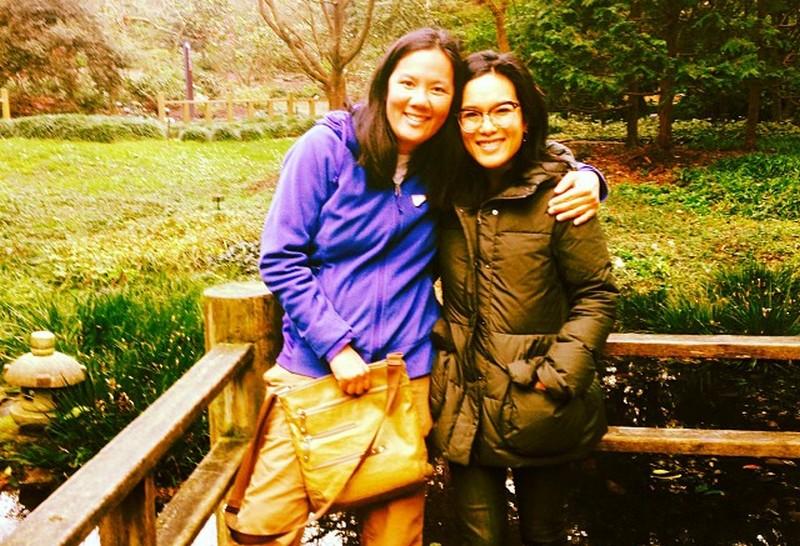 Ali Wong siblings - sister Mimi Wong