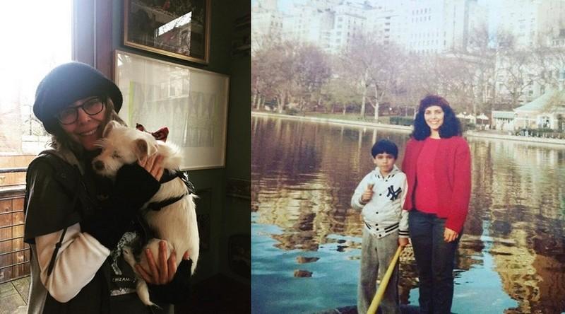 Adrian Grenier family - mother Karesse Grenier