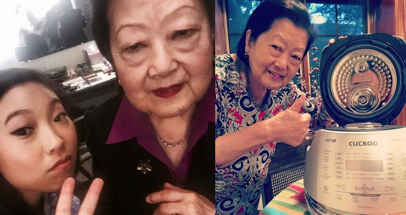 Nora Lum (Awkwafina) family - paternal grandmother Powah Lum