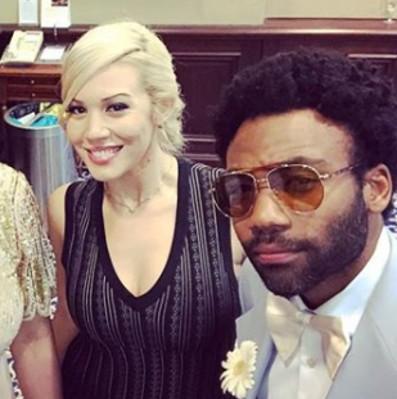 Donald Glover family - girlfriend Michelle White