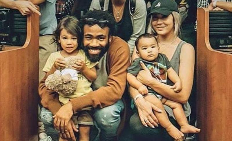 Donald Glover family - children