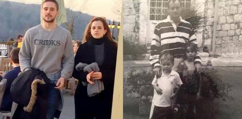 Emma Watson siblings - brother Alex Watson