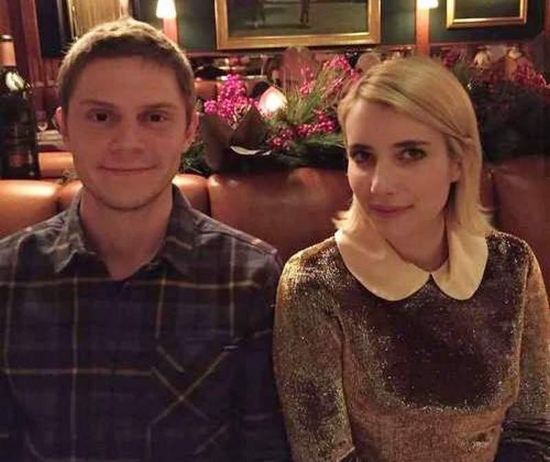 Evan Peters ex-girlfriend Emma Roberts
