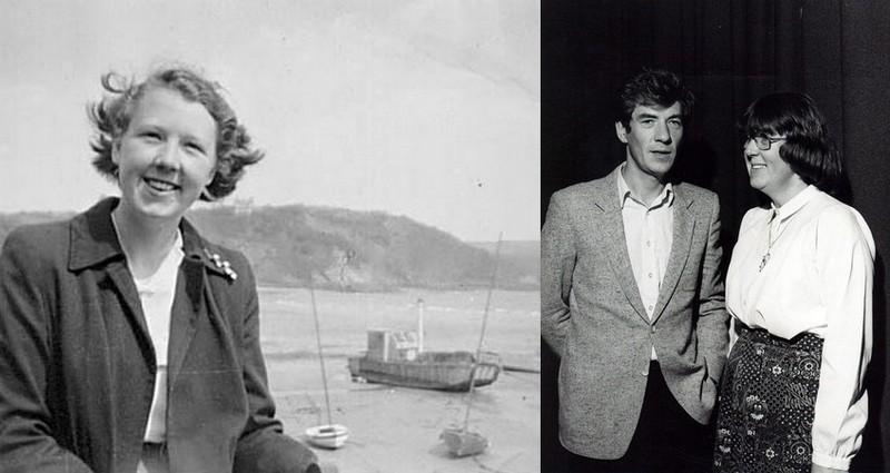 Ian McKellen sibling - sister Jean Jones