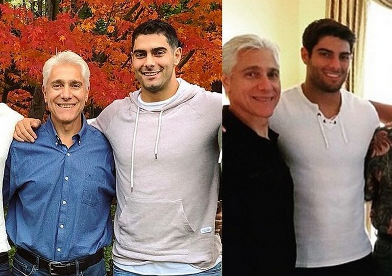 Jimmy Garoppolo family - father Tony Garoppolo Sr.