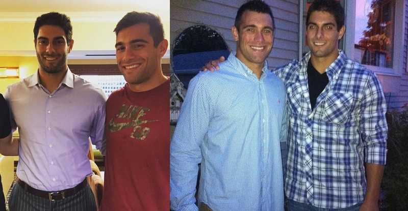 Jimmy Garoppolo siblings - brother Mike Garoppolo