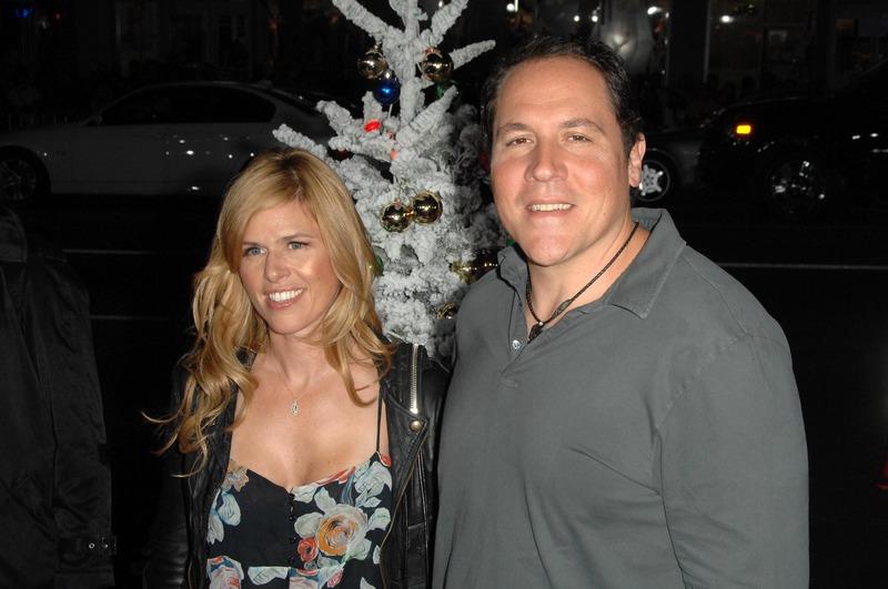 Jon Favreau family - wife Joya Tillem
