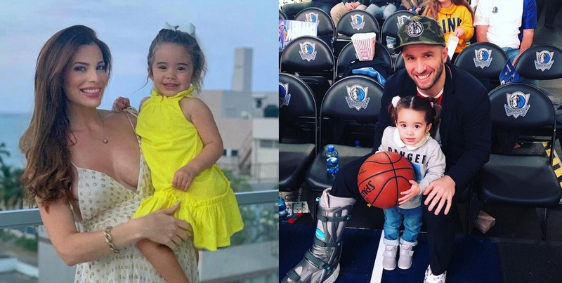 J.J. Barea children - daughter Paulina Barea Ortiz