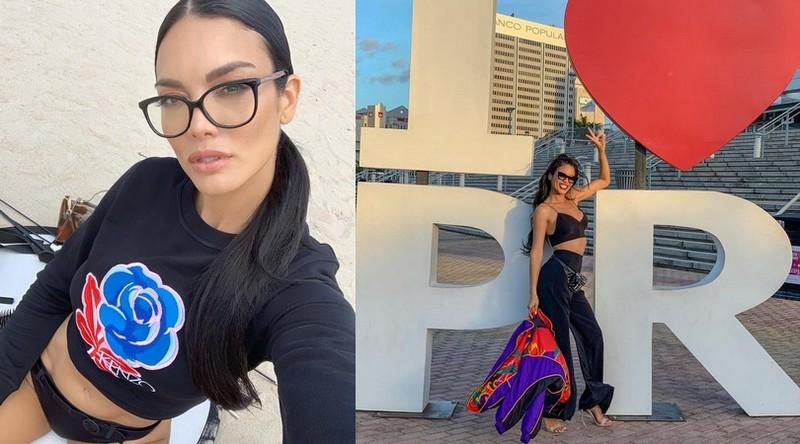 J.J. Barea family - baby mama Zuleyka Rivera
