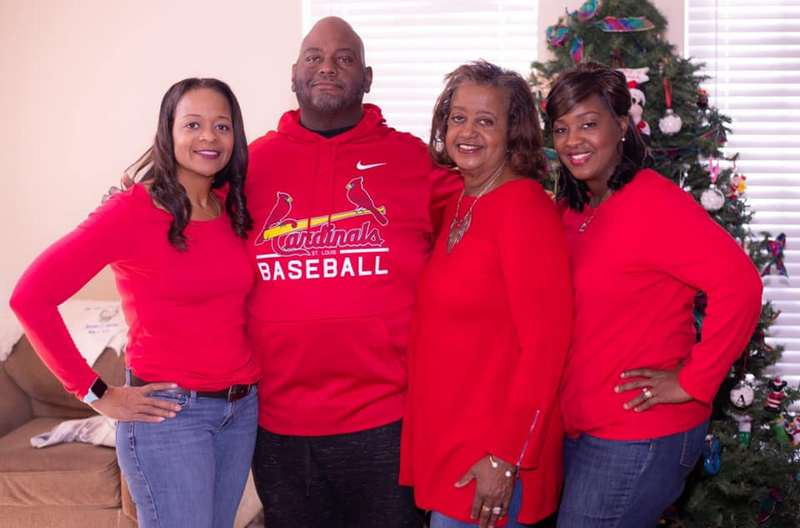 Lavell Crawford family