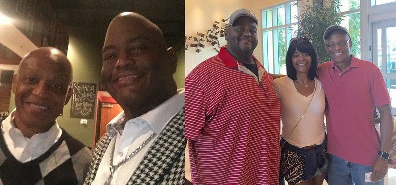 Lavell Crawford family - father Daryl Crawford