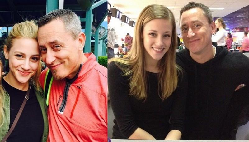 """Lili Reinhart's family - father Daniel """"Dane"""" Reinhart"""