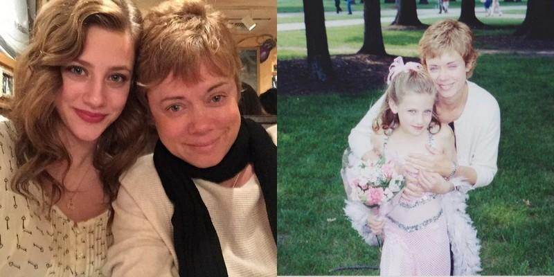 Lili Reinhart's family - mother Amy Reinhart