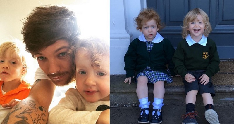 Louis Tomlinson siblings - twins Doris and Ernest Deakin