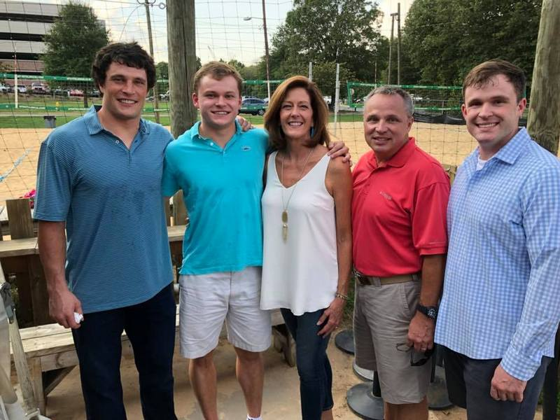 Luke Kuechly family - mother Eileen Kuechly