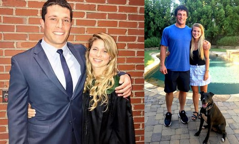 Luke Kuechly family - girlfriend Shannon Reilly