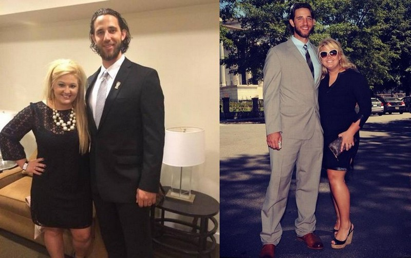 Madison Bumgarner family - wife Ali Saunders