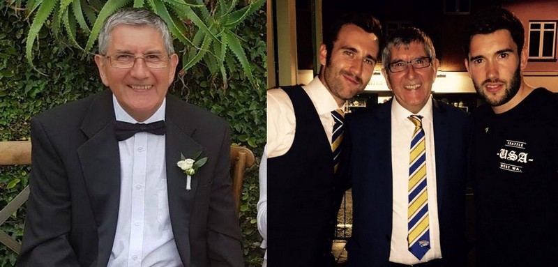 Matthew Lewis family - father Adrian Lewis