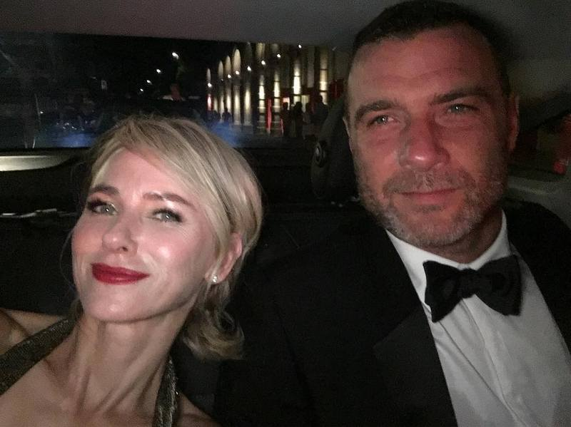 Naomi Watts family - ex-partner Liev Schreiber