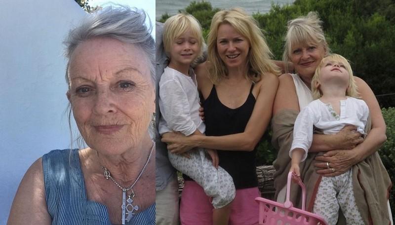 Naomi Watts family - mother Myfanwy Edwards Watts