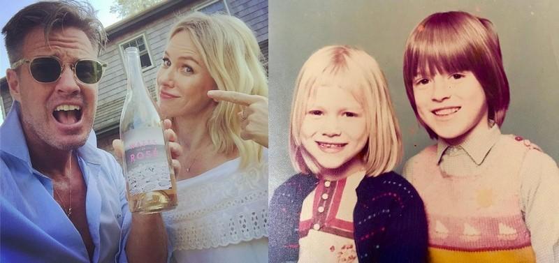 Naomi Watts siblings - brother Ben Watts