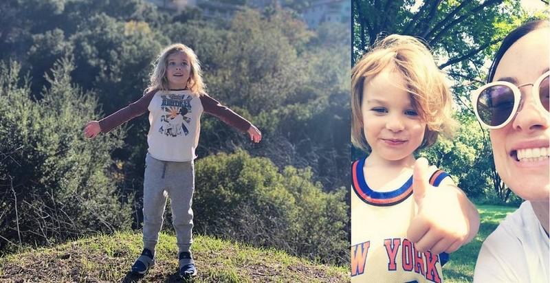 Olivia Wilde children - son Otis Alexander Sudeikis